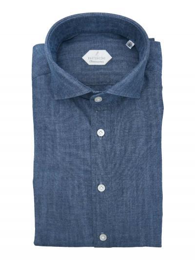 BASTONCINO Camicia fantasia vestibilita leggermente slim  Camicie | SIMOC101