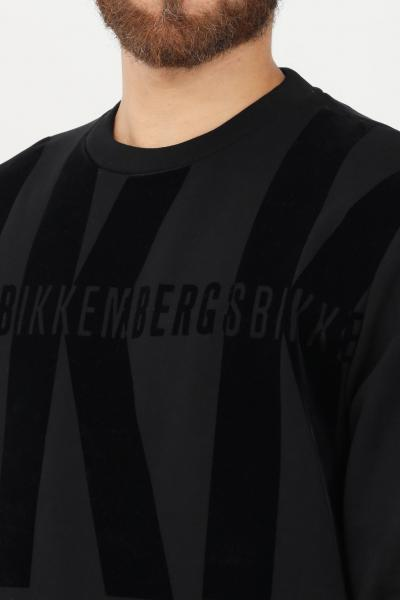 BIKKEMBERGS Felpa uomo nero bikkembergs girocollo  Felpe   C615008E2293C74