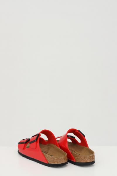 BIRKENSTOCK Ciabatte ARIZONA BS PATENT CHERRY donna rosso birkenstock con fibbie regolabili  Ciabatte   1019426.