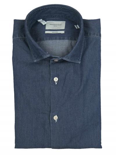BROOKSFIELD Camicia slim fit, collo francese, indigo  Camicie | 202A.T091V0031