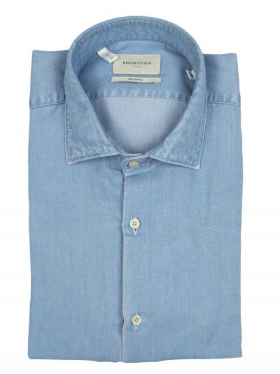 BROOKSFIELD Camicia slim fit, collo francese, indigo  Camicie | 202A.T093V0031
