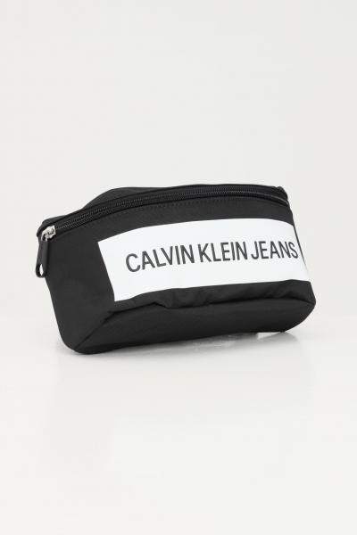 CALVIN KLEIN Marsupio unisex nero calvin klein jeans con chiusura regolabile  Marsupi   K50K506941BDS