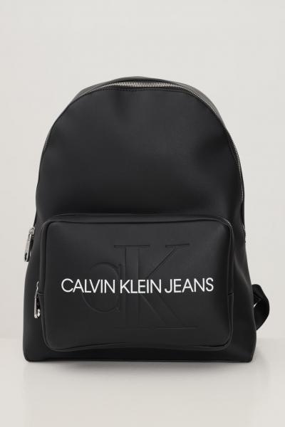 CALVIN KLEIN Zaino donna nero calvin klein jeans rotondo  Borse   K60K607201BDS