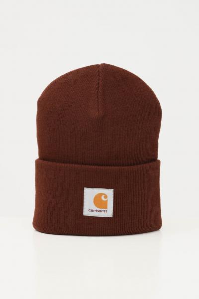 Cappello unisex marrone con logo frontale  Cappelli | I020222.060EG.XX