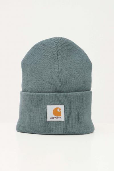 Cappello unisex verde con logo frontale  Cappelli | I020222.060ER.XX