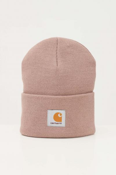 Cappello unisex beige con logo frontale  Cappelli | I020222.060FE.XX