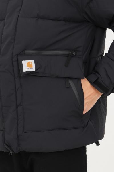 CARHARTT Piumino uomo nero carhartt con zip integrale e strappo  Giacche   I029449.0389.XX