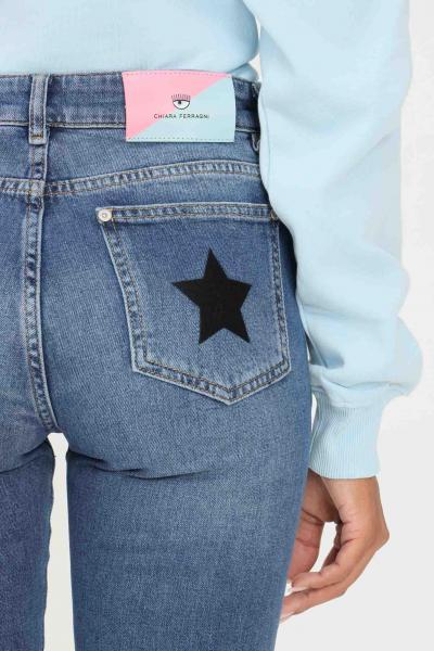 CHIARA FERRAGNI Jeans donna chiara ferragni a vita alta  Jeans | 71CBB5R3CDW13904