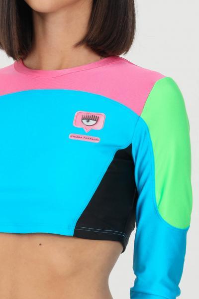 CHIARA FERRAGNI Top donna multicolor chiara ferragni con maniche lunghe  Top   71CBM270N0008899