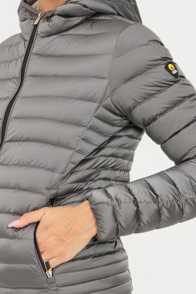 CIESSE Piumino donna grigio ciesse con zip frontale e cappuccio  Giubbotti   193CFWJ02098-N7A10D9639XP
