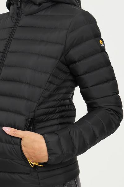 CIESSE Piumino donna nero ciesse con zip frontale e cappuccio  Giubbotti   193CFWJ02098-P0210D2019XP