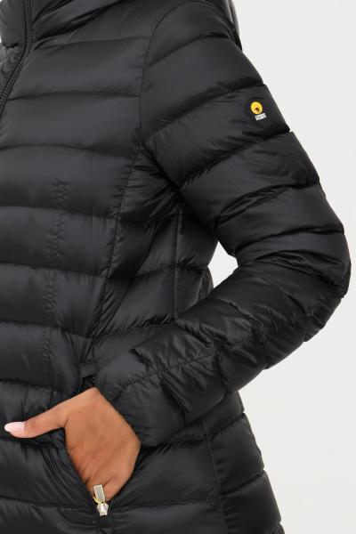 CIESSE Piumino lungo donna nero ciesse con cappuccio  Giubbotti   203CFWC02362-N1C10D201XXP