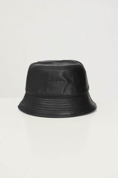 DAILY PAPER Bucket unisex nero daily paper con applicazione logo frontale  Cappelli | 2121118BLACK