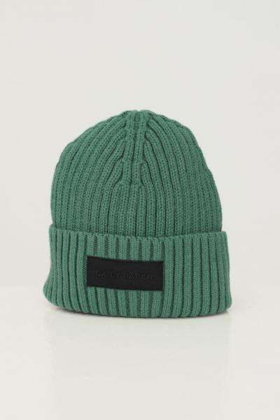 DAILY PAPER Cappello unisex verde daily paper con patch logo frontale  Cappelli | 2122044GREENPINE
