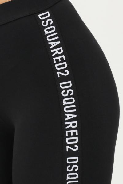 DSQUARED2 Shorts donna nero dsquared2 modello ciclista sport  Shorts | D8N623720010