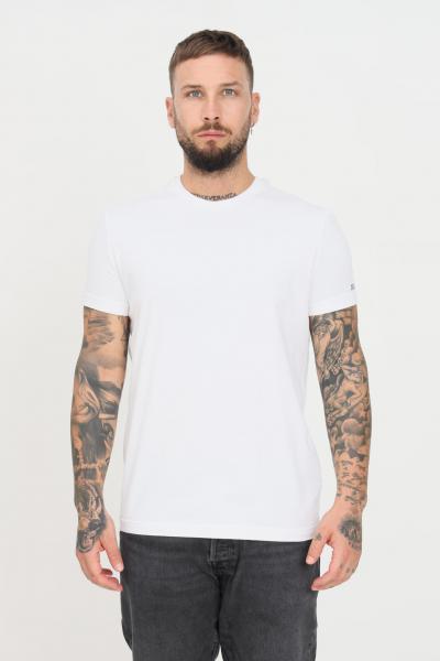 DSQUARED2 T-shirt unisex bianco dsquared2 a manica corta con logo a contrasto sulla manica  T-shirt | D9M203610100