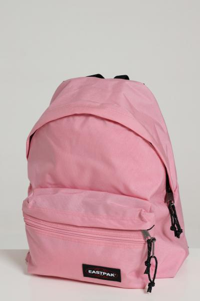 EASTPAK Zaino unisex rosa eastpak in tinta unita con logo a contrasto, chiusura con zip e tracolle regolabili  Zaini | EK0A5B74B56CRYSTALPINK