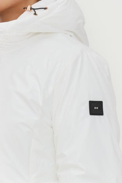 F**K Piumino donna bianco f**k con cappuccio  Giubbotti | AZZORRE222001BI