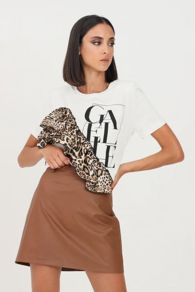 GAELLE T-shirt donna bianco gaelle a manica corta  T-shirt   GBD10098BIANCO