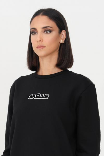 GAELLE Felpa donna nero gaelle modello girocollo  Felpe   GBD10222NERO
