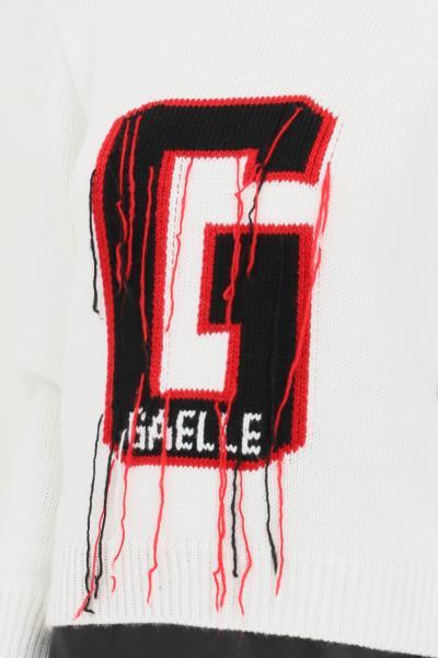 GAELLE Maglioncino donna bianco gaelle paris a collo alto  T-shirt   GBD10328BIANCO