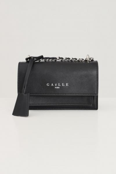 GAELLE Borsa donna nero gaelle con tracolla in tessuto e catena  Borse | GBDA2607NERO