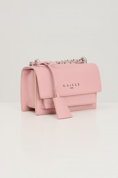 GAELLE Borsa donna rosa gaelle con tracolla in tessuto e catena  Borse | GBDA2607ROSA