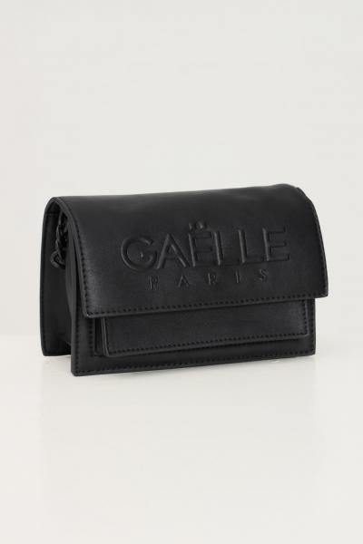 GAELLE Borsa donna nero gaelle con catena fissa e logo frontale in rilievo  Borse | GBDA2653NERO
