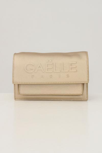 GAELLE Borsa donna oro gaelle con catena fissa e logo frontale in rilievo  Borse | GBDA2653ORO