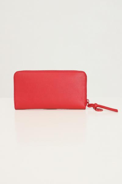 GAELLE Portafogli donna rosso gaelle con logo tono su tono in rilievo  Portafogli | GBDA2663ROSSO