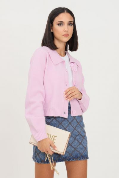 GLAMOROUS Cardigan donna rosa glamorous con bottoni  Cardigan | AN4027LIGHTORCHID