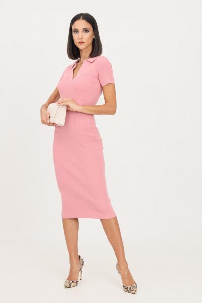 GLAMOROUS Abito in maglia donna rosa glamorous taglio midi  Abiti | CA0158PINK