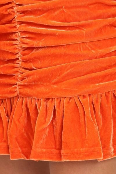 GLAMOROUS Gonna donna arancio glamorous corta con balze  Gonne | GC0435ORANGE