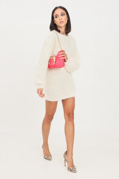 GLAMOROUS Gonna donna bianco glamorous corta con elastico in vita  Gonne | TM0249OFFWHITE