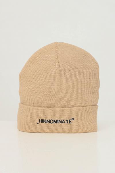 HINNOMINATE Cappello unisex biscotto hinnominate con ricamo logo frontale a contrasto  Cappelli   HNACA01BISCOTTO