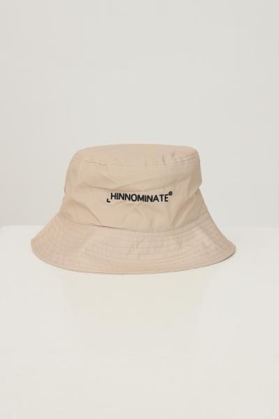 HINNOMINATE Bucket unisex biscotto hinnominate con ricamo logo a contrasto  Cappelli   HNACA02BISCOTTO