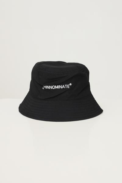 HINNOMINATE Bucket unisex nero hinnominate con ricamo logo a contrasto  Cappelli   HNACA02NERO