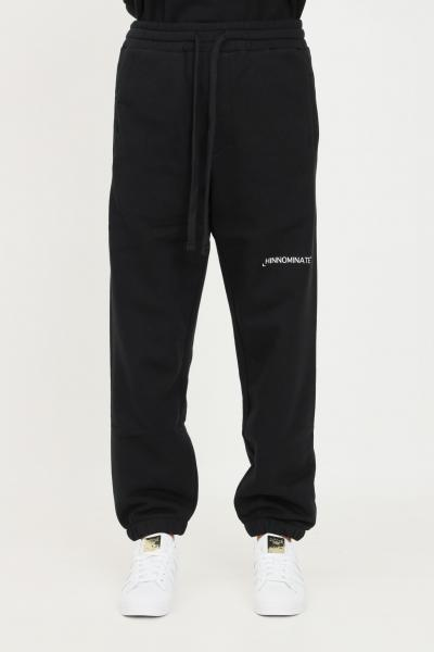 HINNOMINATE Pantaloni unisex nero hinnominate casual con elastico in vita  Pantaloni | HNMSP06NERO
