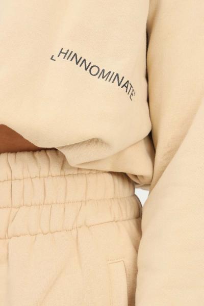 HINNOMINATE Felpa donna biscotto hinnominate girocollo con elastico sul fondo  Felpe | HNWSFCO28BISCOTTO