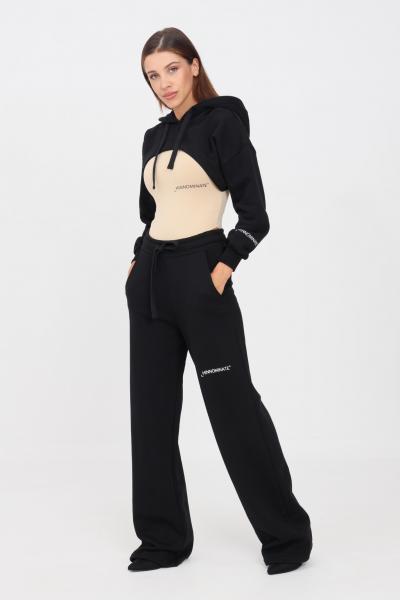 HINNOMINATE Pantaloni donna nero hinnominate casual con fondo ampio  Pantaloni | HNWSP04NERO