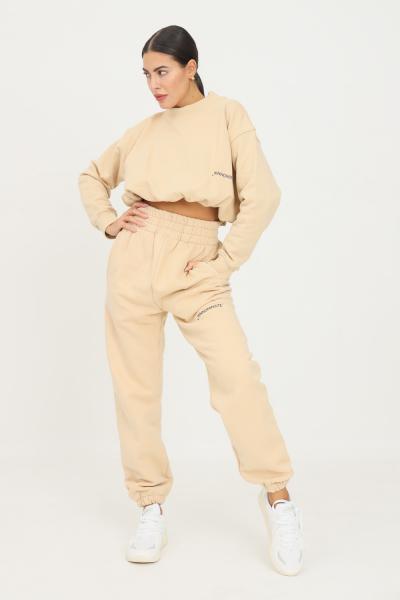 HINNOMINATE Pantaloni donna biscotto hinnominate causal a vita alta  Pantaloni | HNWSP32BISCOTTO