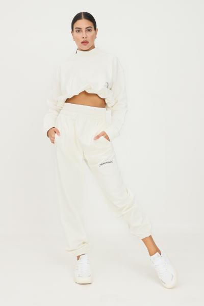 HINNOMINATE Pantaloni donna bianco hinnominate causal a vita alta  Pantaloni | HNWSP32OFFWHITE