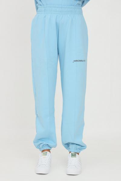HINNOMINATE Pantaloni unisex azzurro hinnominate modello casual con elastico in vita  Pantaloni | HNWSP38CIELO