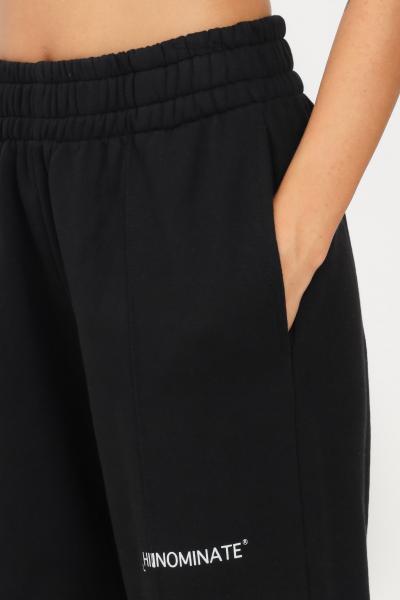 HINNOMINATE Pantaloni donna nero hinnominate modello casual con elastico in vita  Pantaloni | HNWSP38NERO