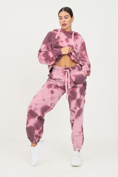 HINNOMINATE Pantaloni donna rosa hinnominate modello casual con stampa allover  Pantaloni | HNWSP58ROSA