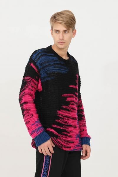 JUST CAVALLI Maglione uomo multicolor just cavalli girocollo  T-shirt | S03HA0442911