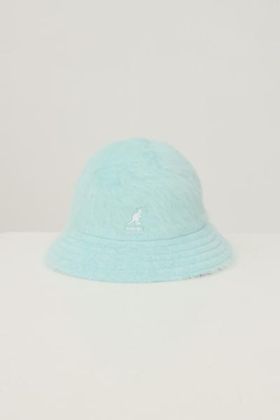 KANGOL Bucket 507 donna azzurro kangol con ricamo logo a contrasto  Cappelli | K3017STBT434
