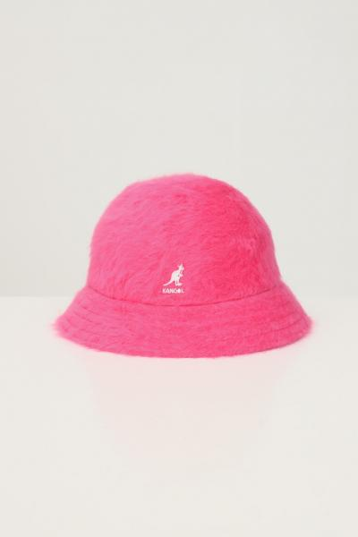 KANGOL Bucket 507 donna fucsia kangol con ricamo logo a contrasto  Cappelli | K3017STEP600