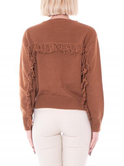KAOS kaos maglia con frange  T-shirt | NI1FP0356009