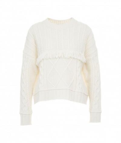 KAOS kaos maglione con frange  T-shirt | NI1FP0481041